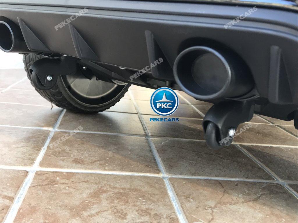 Coche electrico para niños Ford Focus RS Negro ruedas de transporte