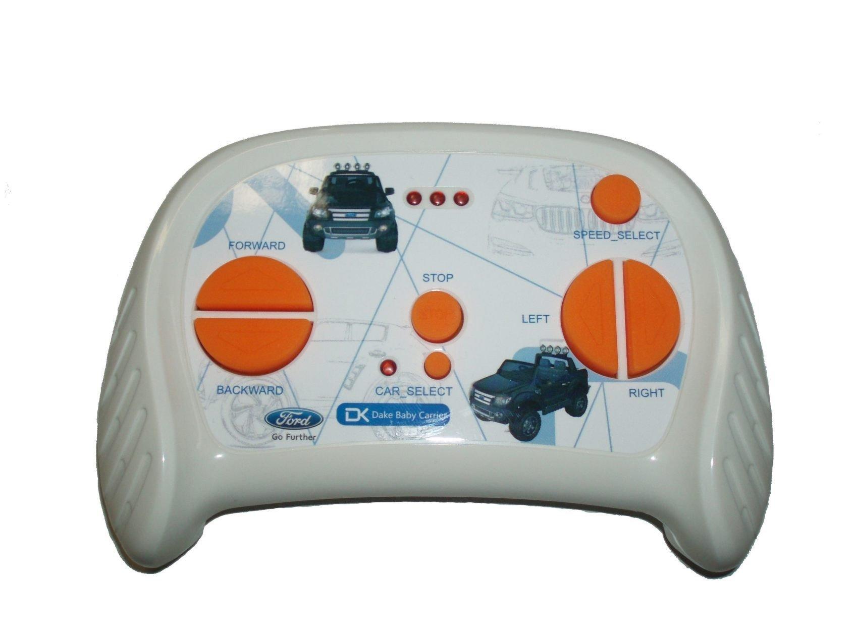 Todoterreno electrico para niños Ford Ranger MP4 Azul Metalizado mando radiocontrol