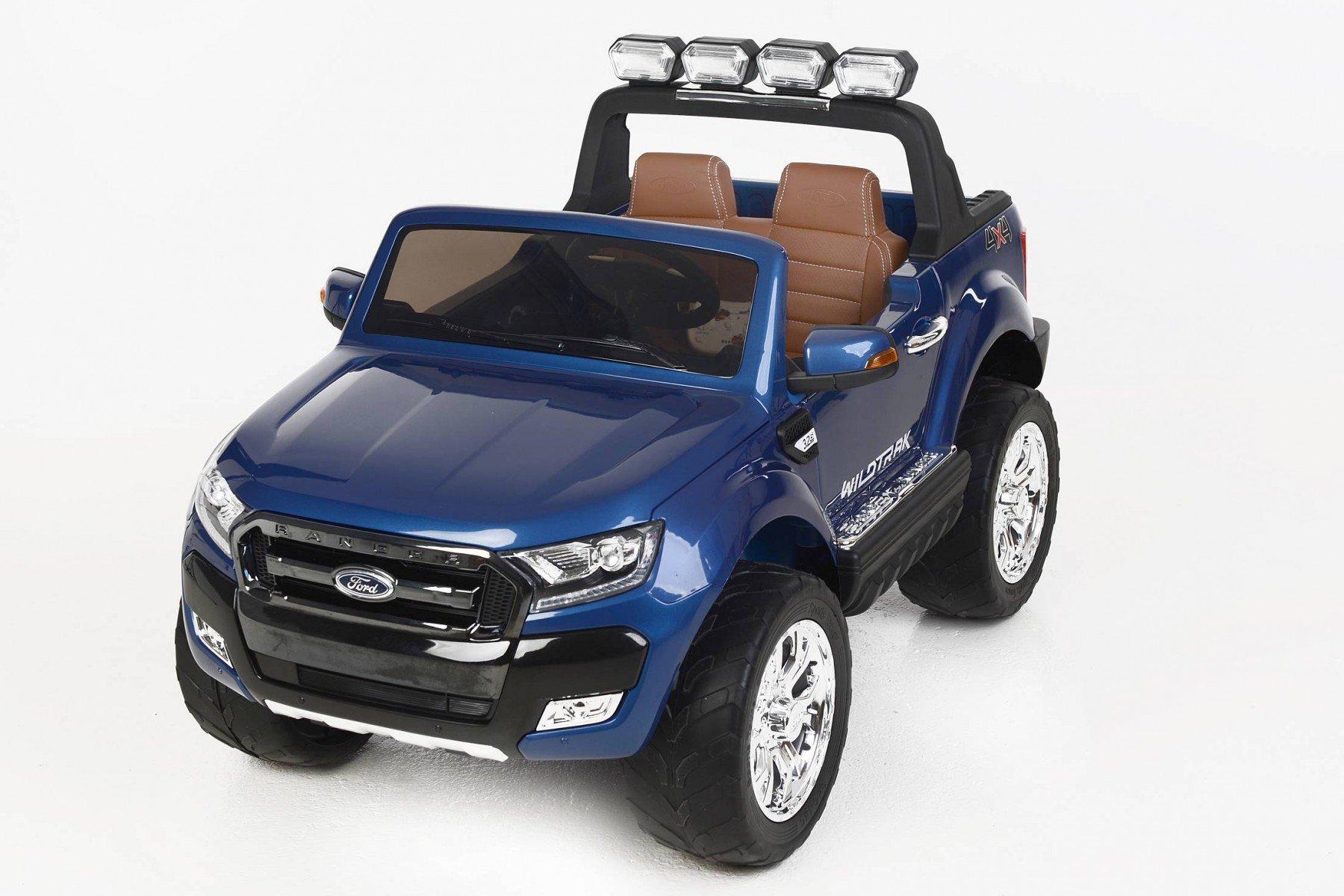 Todoterreno electrico para niños Ford Ranger MP4 Azul Metalizado