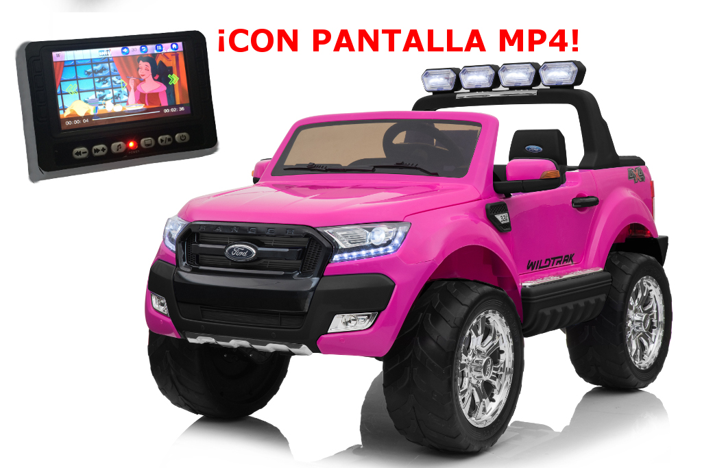 Ford Pick Up 12V infantil en color rosa