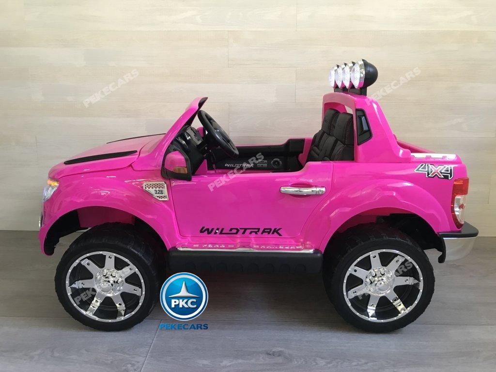 Todoterreno electrico para niños Ford Ranger Rosa
