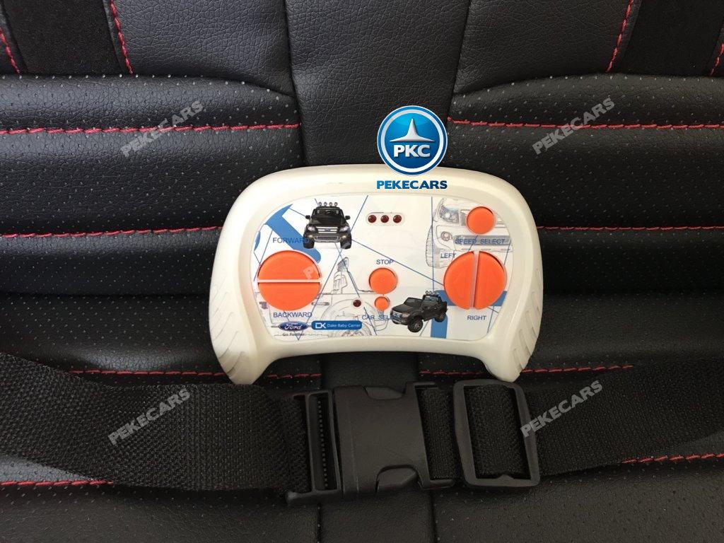 Todoterreno electrico infantil Ford Ranger Rosa con mando radiocontrol