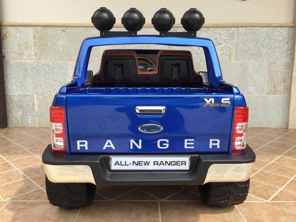 Todoterreno electrico para niños Ford Ranger Azul Metalizado