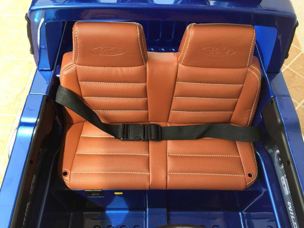 Todoterreno electrico infantil Ford Ranger Azul Metalizado con apertura de puertas