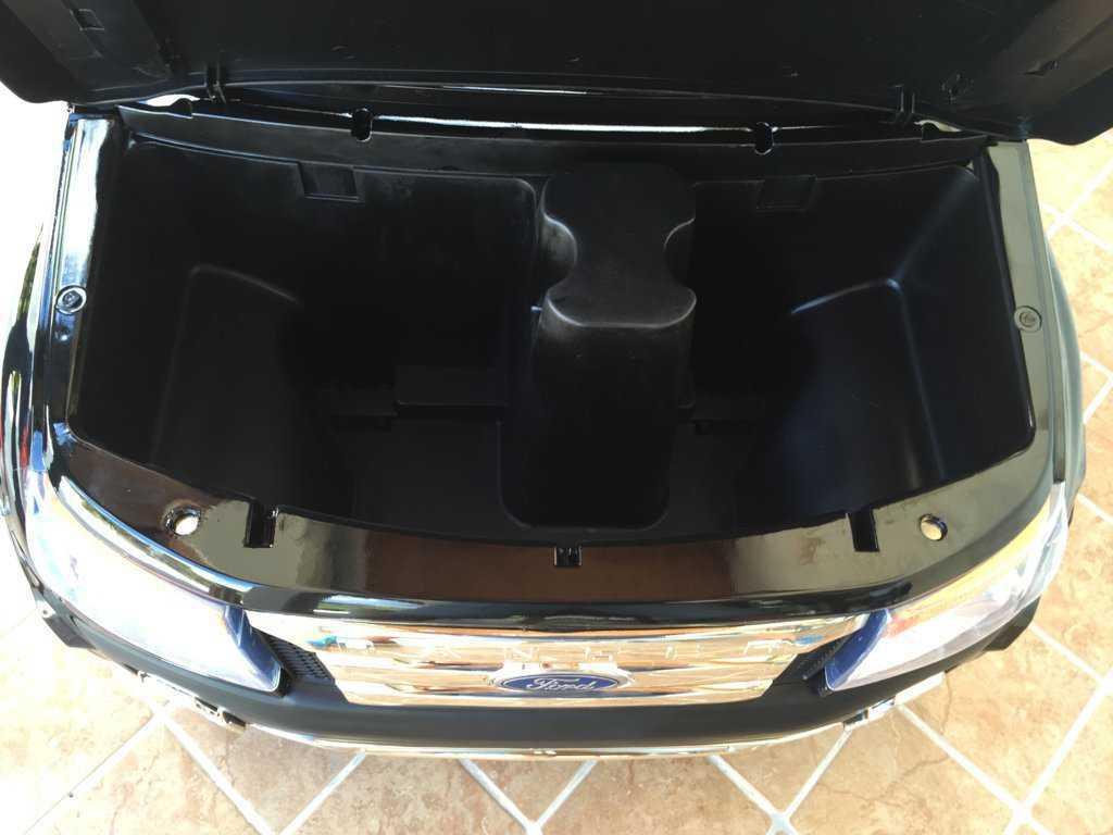 Todoterreno electrico infantil Ford Ranger Negro Metalizado con apertura de puertas