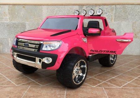 Furgoneta Ford Ranger para niños 12V Pink