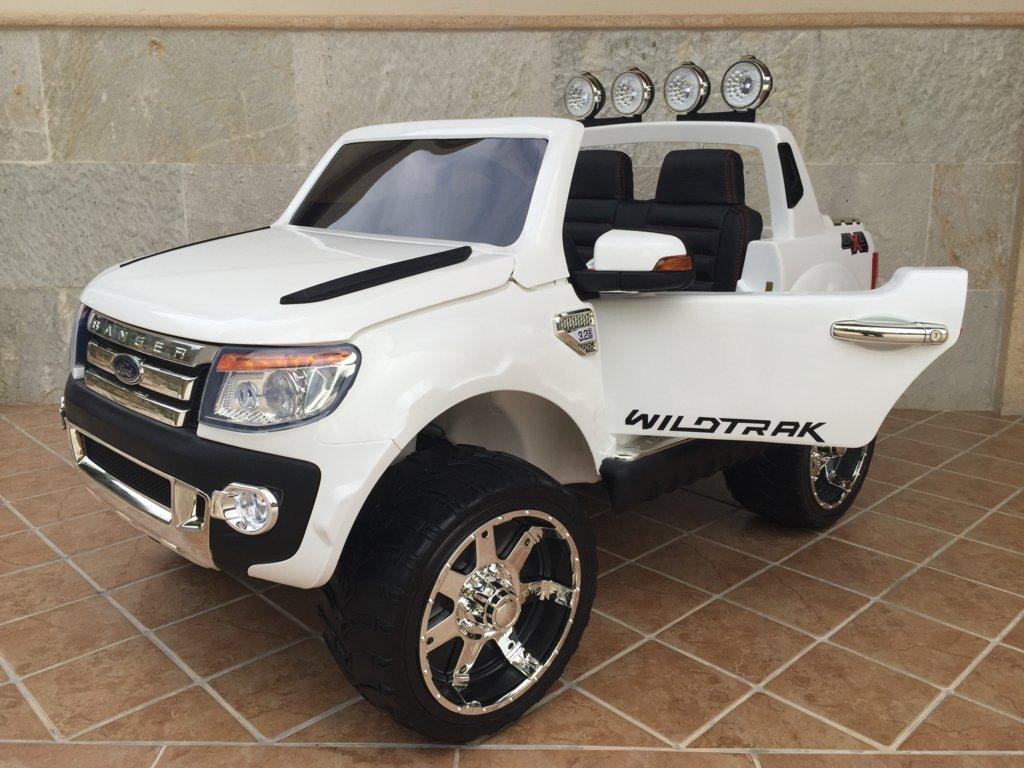 Furgoneta Ford Ranger para niños 12V White