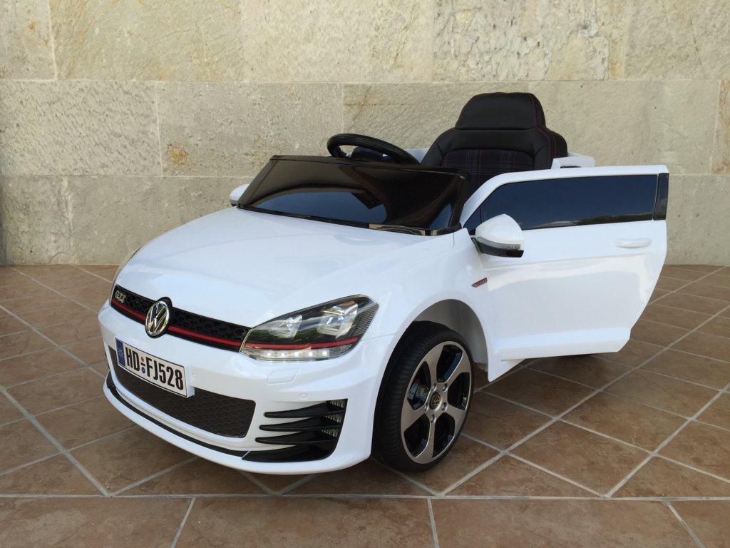 d4d9b51c5 GOLF GTI 12V 2.4G PEKECARS WHITE | Pekecars