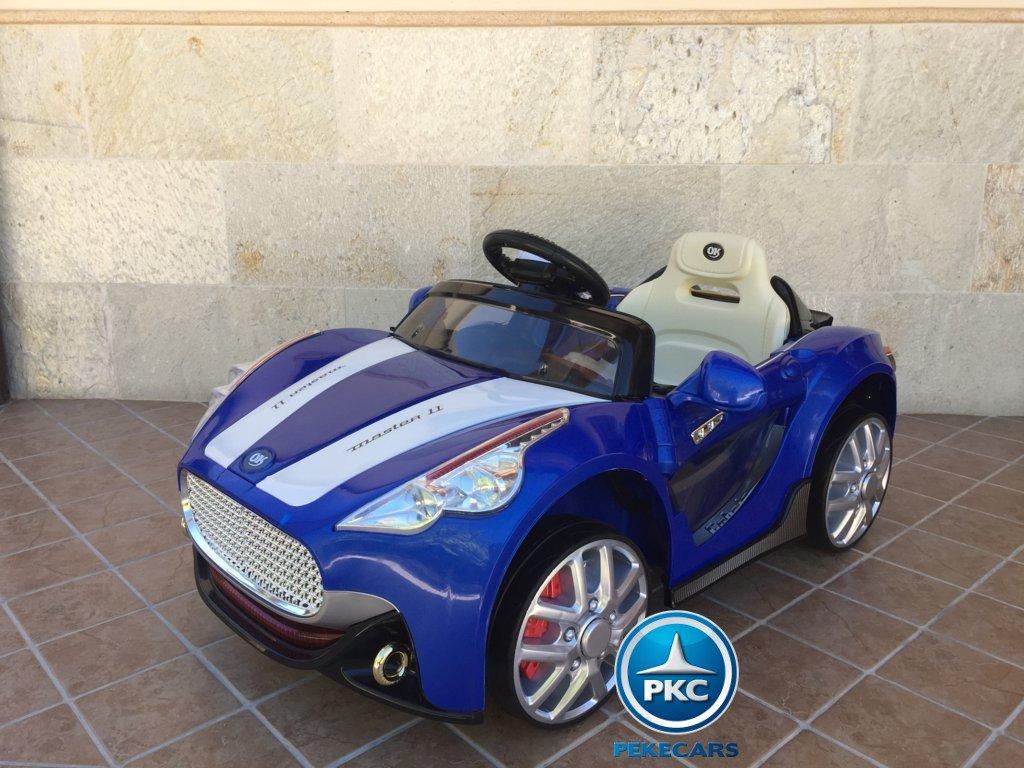 Coche electrico para niños GT Deportivo Azul