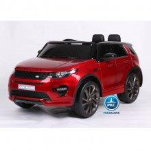 Land rover discovery rojo pintado