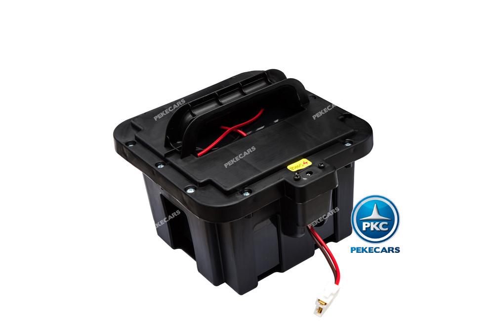 Coche electrico para niños Lexus 570 con MP4 Negro bateria extraible