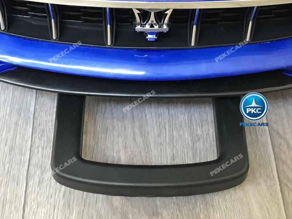 Coche electrico para niños Maserati Alfieri Azul con Pantalla MP4 asa de transporte