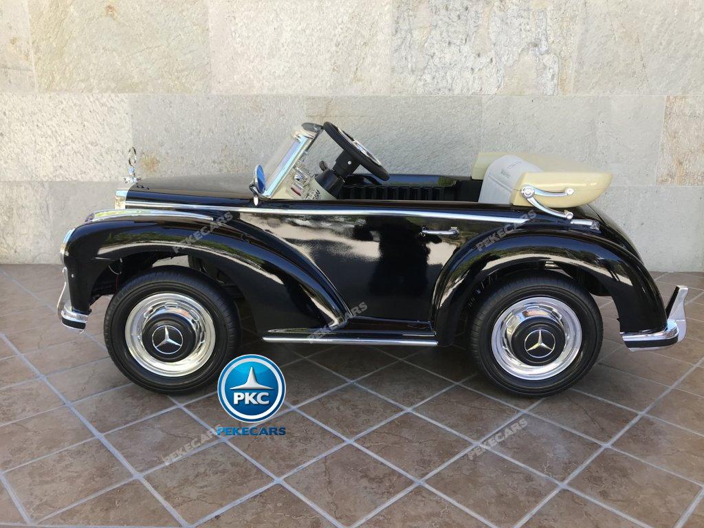 Coche electrico para niños Mercedes Benz 300S Negro