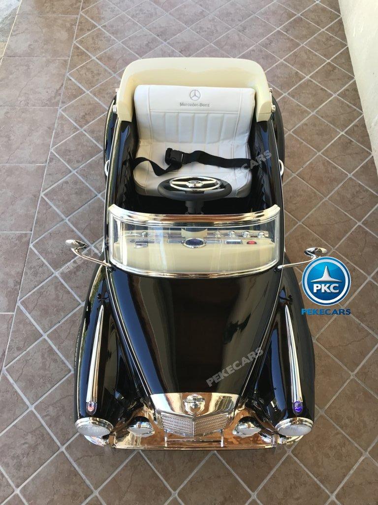 Coche electrico infantil Mercedes Benz 300S Negro
