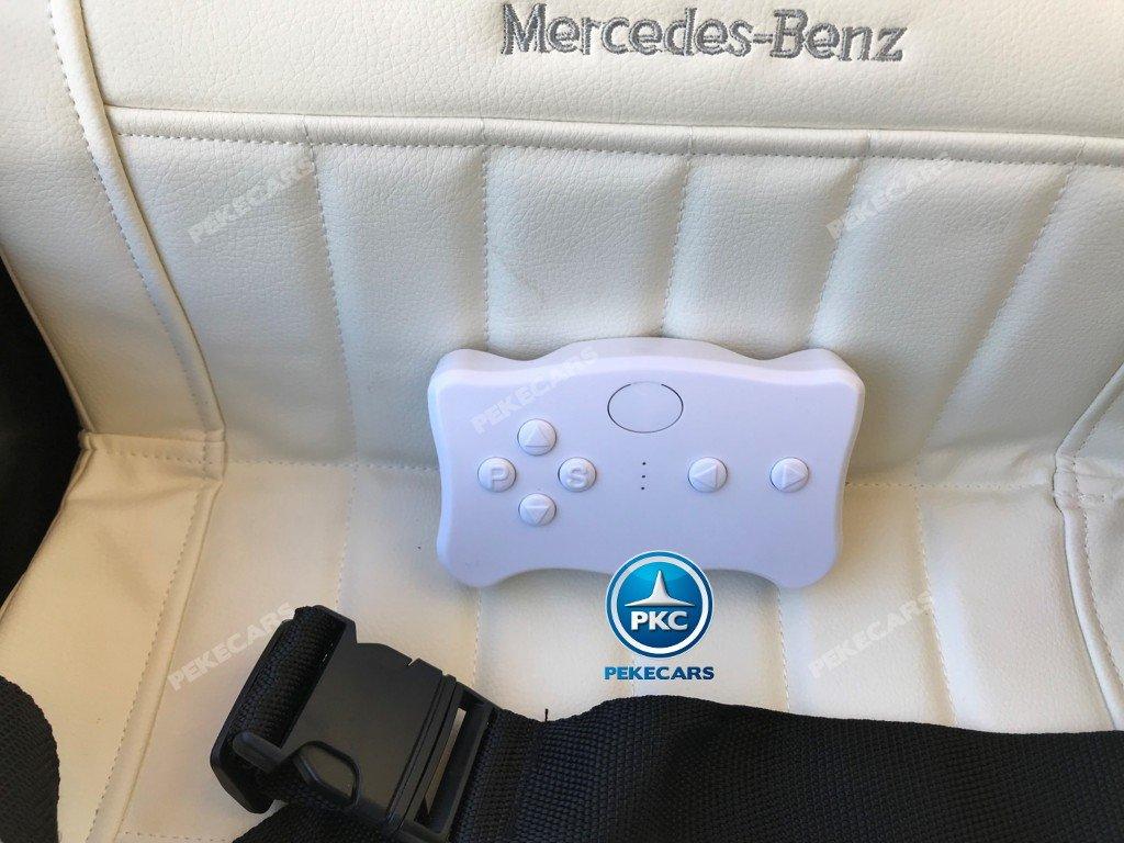Coche electrico para niños Mercedes Benz 300S Negro con mando radiocontrol