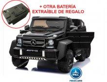 Coche electrico para niños New Mercedes G63 Negro