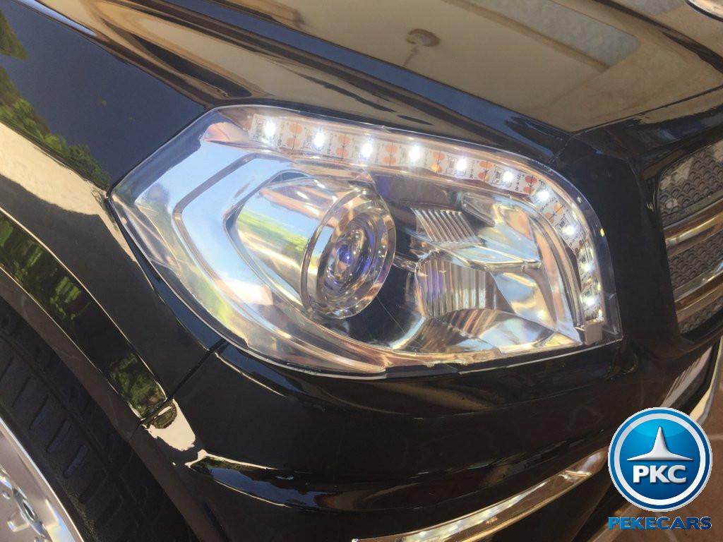 Coche electrico infantil Mercedes GL63 Negro Metalizado con luces delanteras