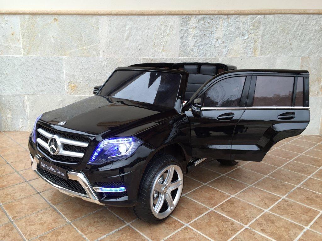 Coche electrico para niños Mercedes GLK-350 Negro Metalizado vista principal