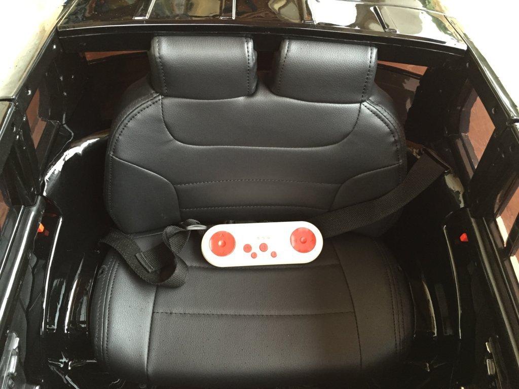 Coche electrico para niños Mercedes GLK-350 Negro Metalizado con mando radiocontrol