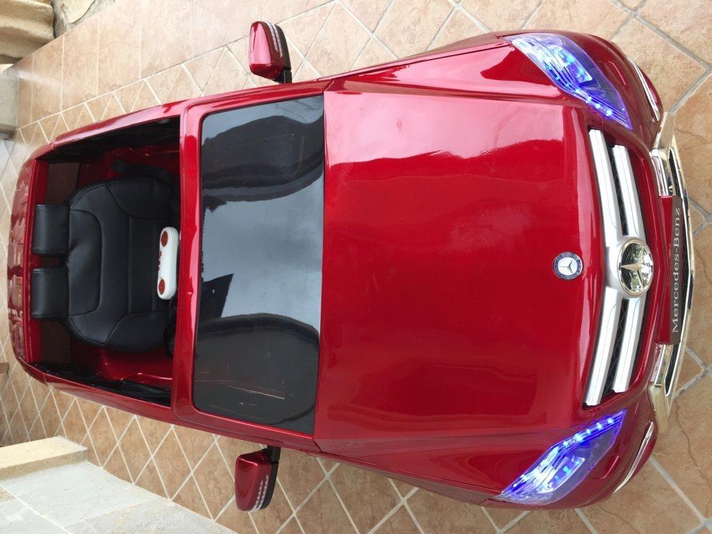Coche electrico infantil Mercedes GLK-350 Rojo Metalizado frente