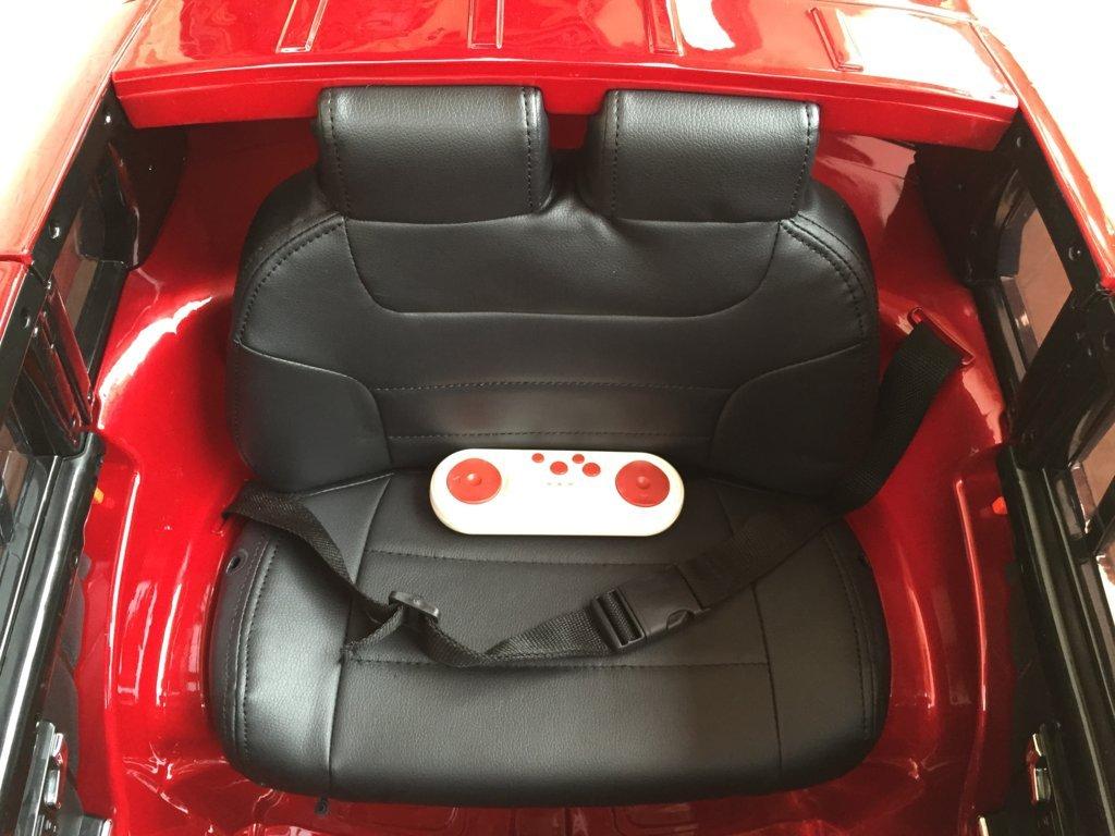 Coche electrico para niños Mercedes GLK-350 Rojo Metalizado con mando radiocontrol