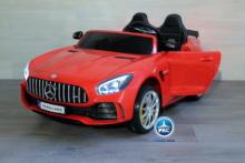 Coche electrico para niños Mercedes GTR 2 plazas Rojo vista principal