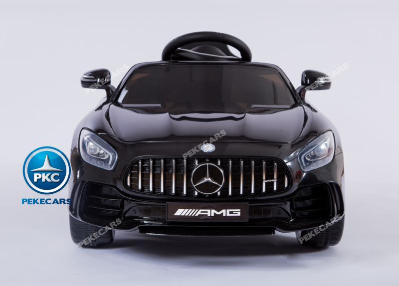Coche electrico infantil Mercedes GTR 12V Negro con USB