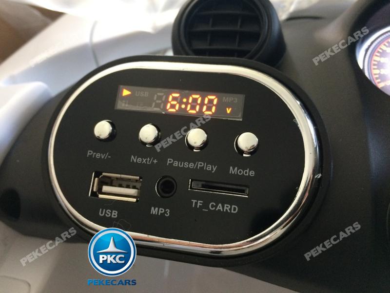 Coche electrico para niños Mercedes GTR 12V Negro dashboard