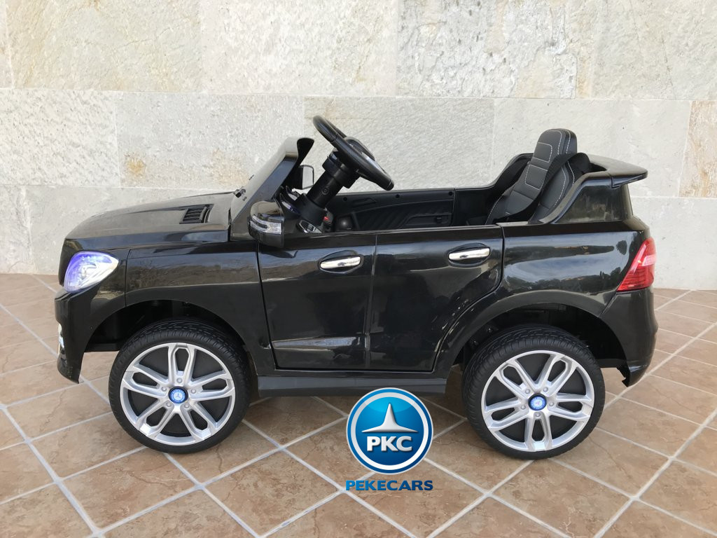 Coche electrico infantil Mercedes ML-350 Negro