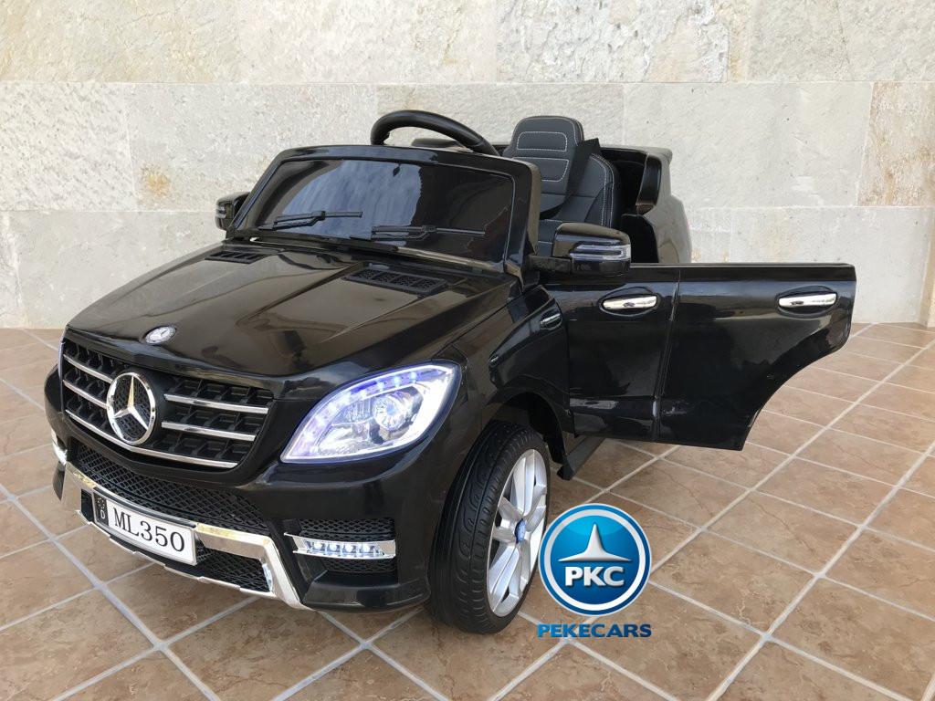 Coche electrico para niños Mercedes ML-350 Negro vista principal