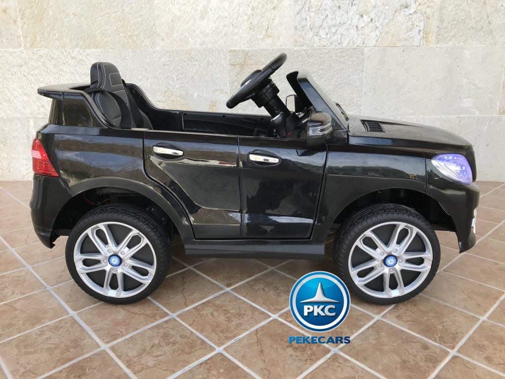 Coche electrico para niños Mercedes ML-350 Negro lateral