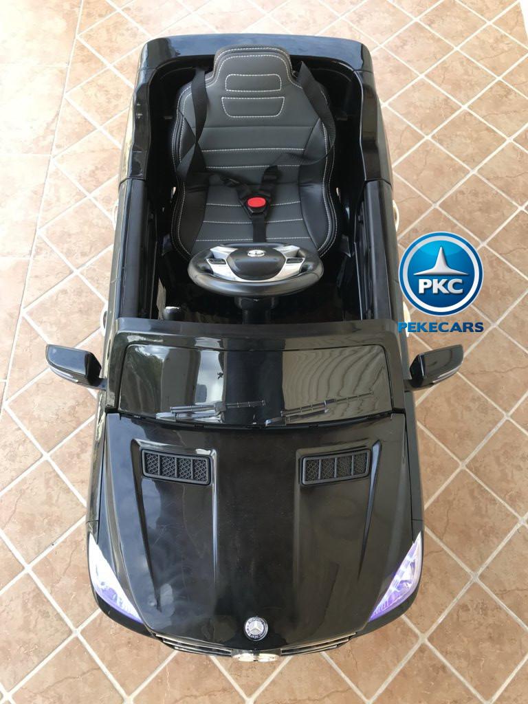 Coche electrico infantil Mercedes ML-350 Negro capo
