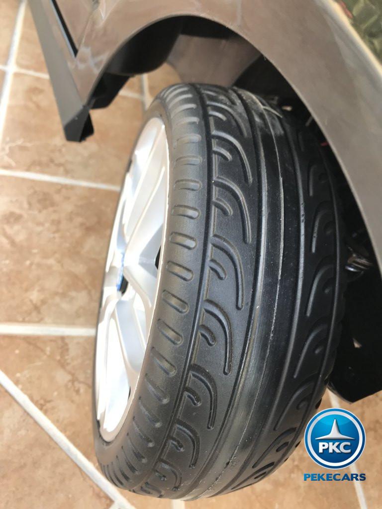 Coche electrico infantil Mercedes ML-350 Negro ruedas de caucho antipinchazos
