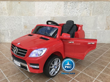 Mercedes ML-350 Red 12V 1 plaza PEKECARS