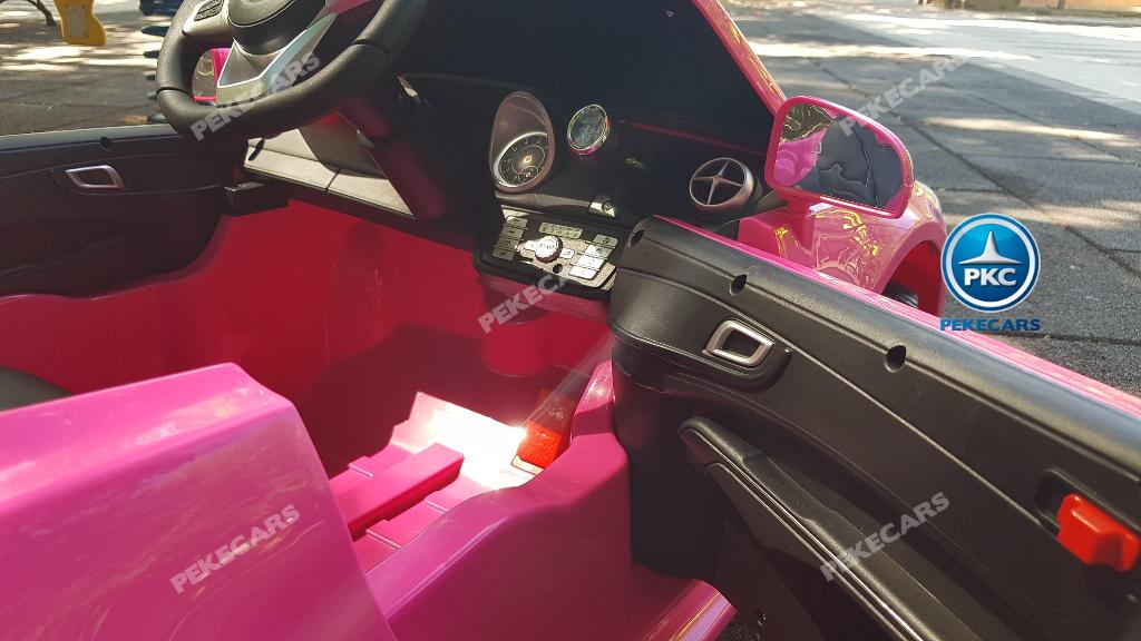 Coche electrico infantil Mercedes SL500 Rosa
