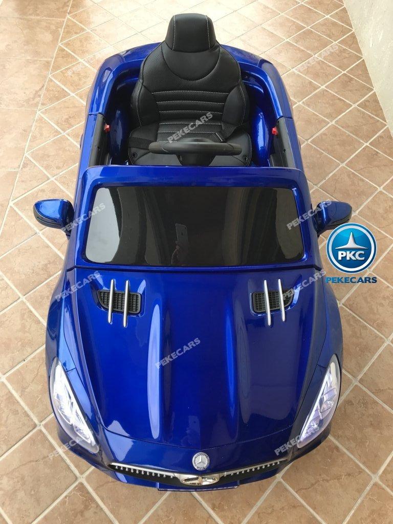 Coche electrico para niños Mercedes SL500 Azul Metalizado
