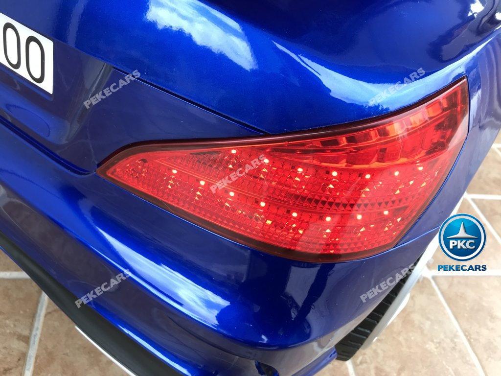 Coche electrico para niños Mercedes SL500 Azul Metalizado luces traseras