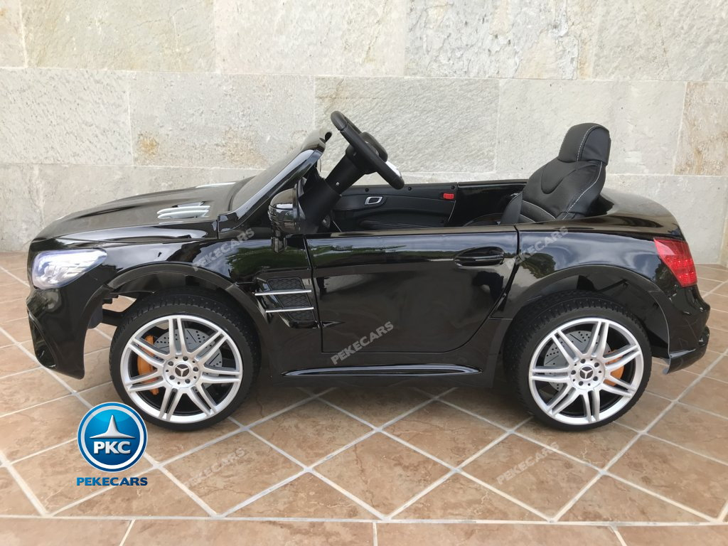 Coche electrico infantil Mercedes SL500 Negro Metalizado