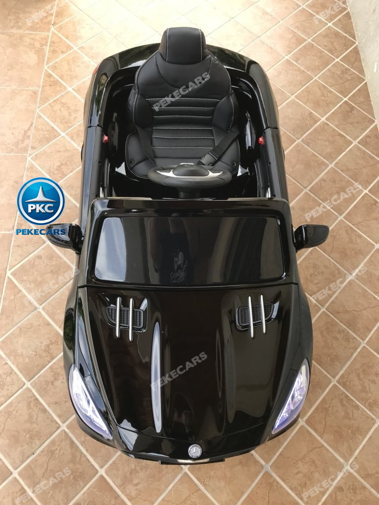Coche electrico para niños Mercedes SL500 Negro Metalizado