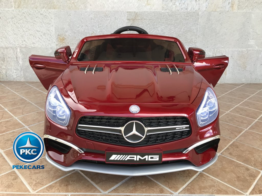 Mercedes SL65 12V 2.4G MP4 Rojo Metalizado frontal