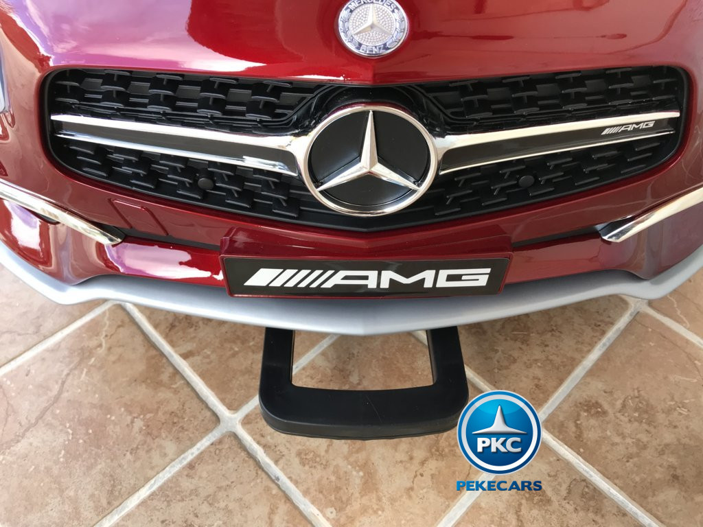 Mercedes SL65 12V 2.4G MP4 Rojo Metalizado