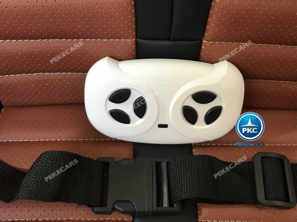 Coche electrico para niños Mercedes SL65 con MP4 y bateria extra Rosa con mando radiocontrol