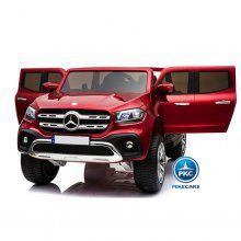Coche electrico para niños Mercedes Pickup X Class 12V Rojo Metalizado vista principal