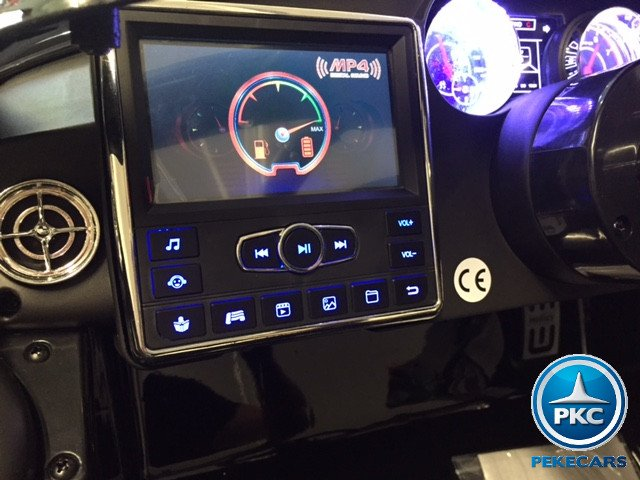 Coche electrico infantil Mercedes deportivo sls Negro