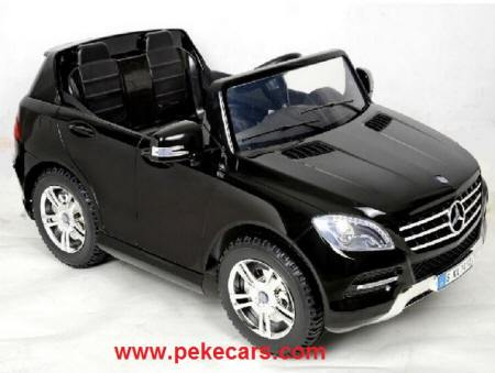 Mercedes ML350 2 plazas 12V con RC black painted para niños
