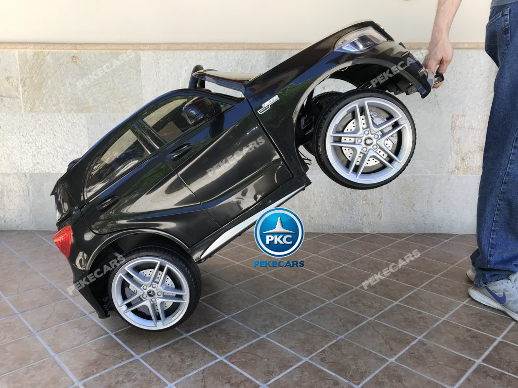 Coche electrico infantil mercedes a45 Negro sistema stroller