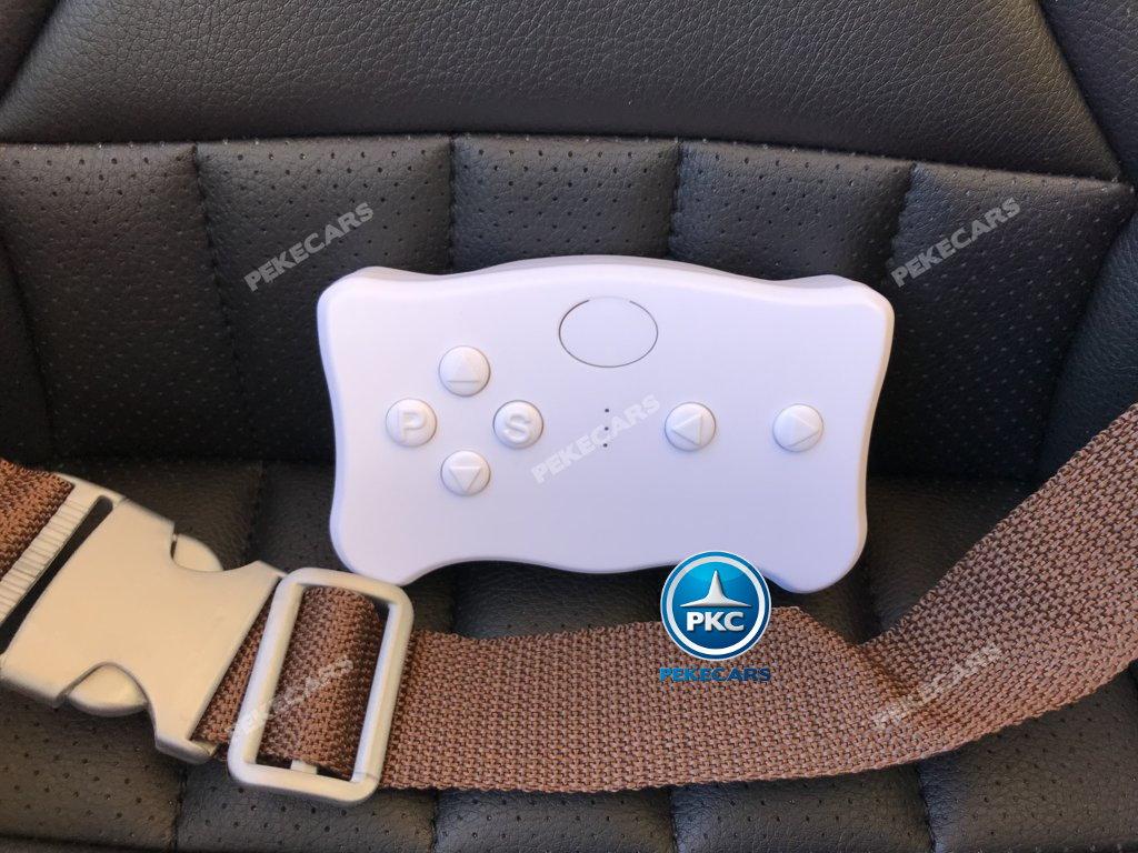 Coche electrico para niños mercedes a45 Rosa mando radiocontrol