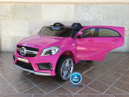 Mercedes A45 12V color Rosa
