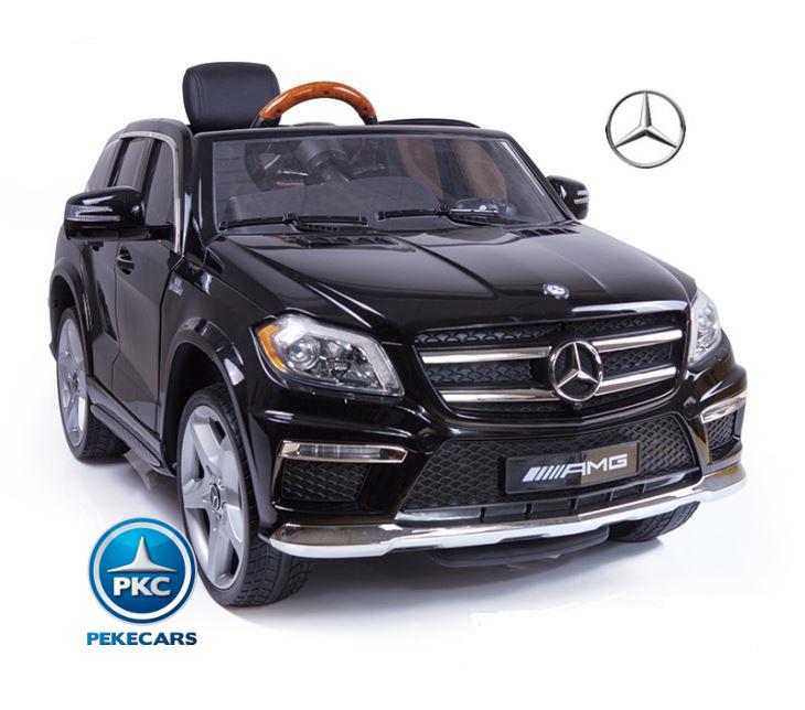 Coche electrico infantil Mercedes GL63 Version Super Luxe Negro pintura metalizada