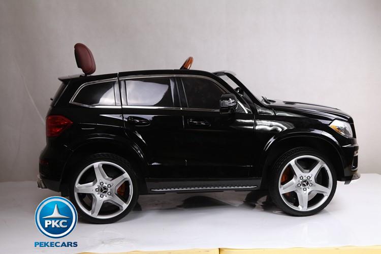 Coche electrico infantil Mercedes GL63 Version Super Luxe Negro con radar anticolision